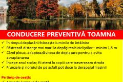 Conducre preventiva toamna Safety Romania