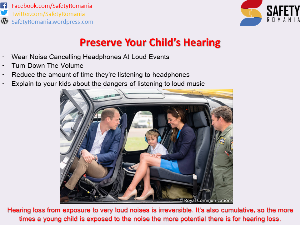 Child Hearing Safety Romania