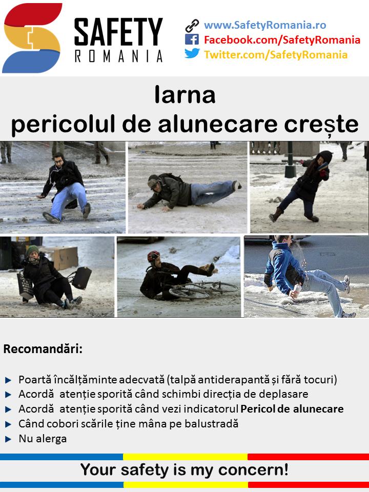 Pericol de alunecare Safety Romania
